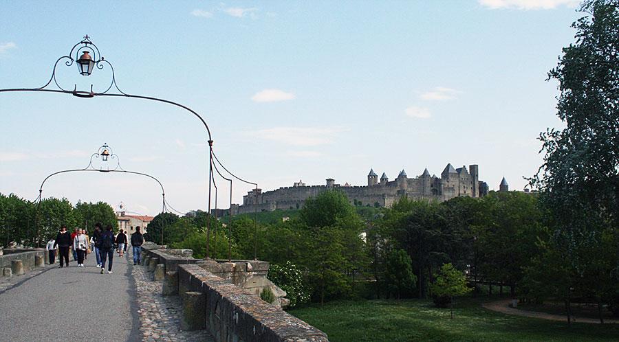 Puente viejo de Carcassonne