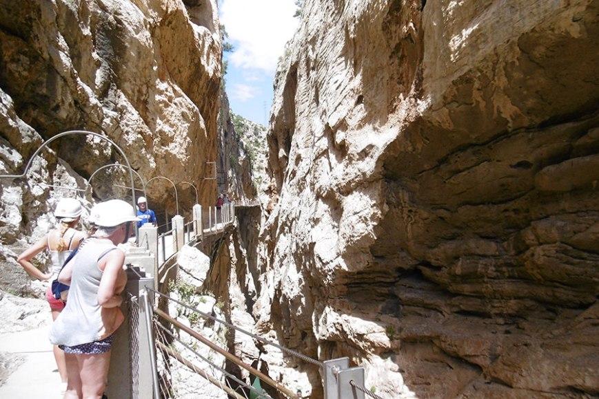 El caminito del rey,  imprescindible en tu Roadtrip por la provincia de Málaga