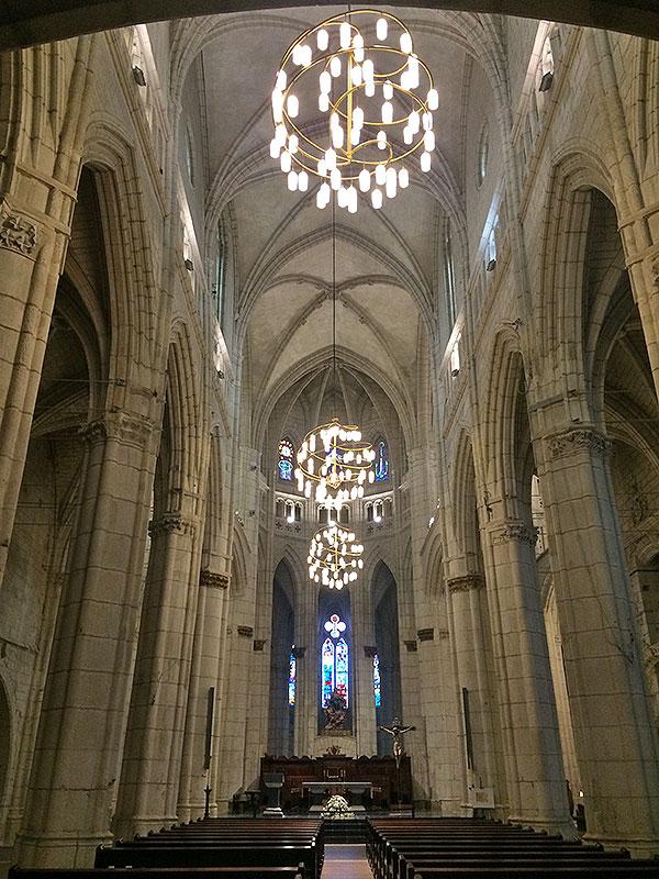 Nave central Santa María de Vitoria