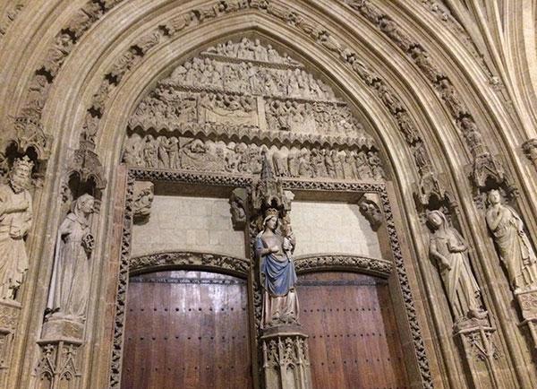 Pórtico de Santa María de Vitoria