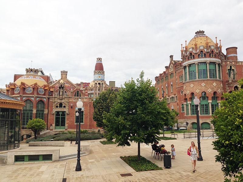 Pabellones exteriores