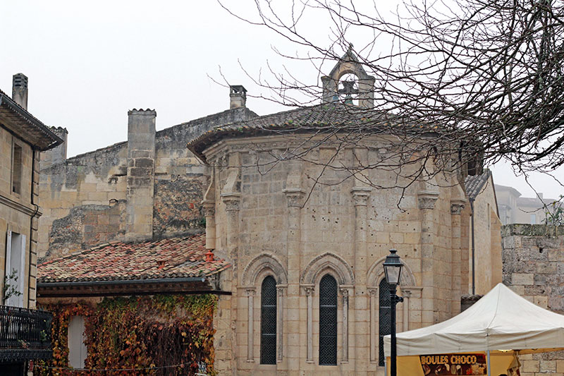 Saint Emilion iglesia