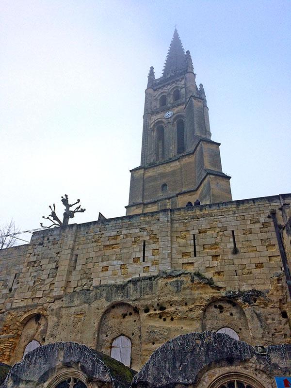Saint Emilion iglesia monolítica