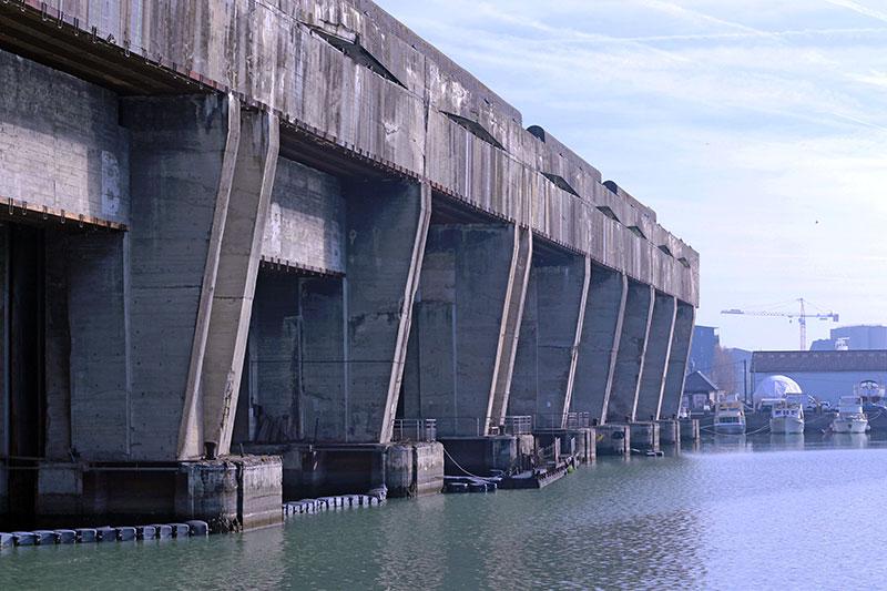 Base sous-marine, una de las cosas más curiosas que ver en Burdeos
