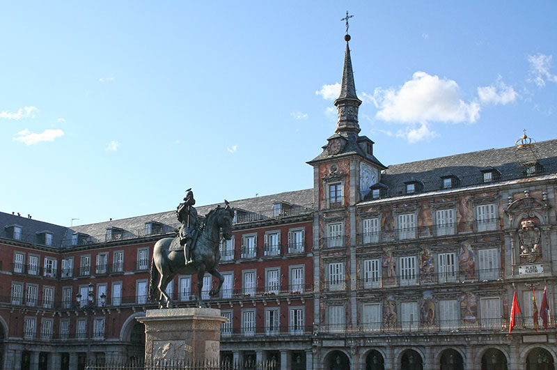 Plaza Mayor Madrid, Madrid de los Austrias