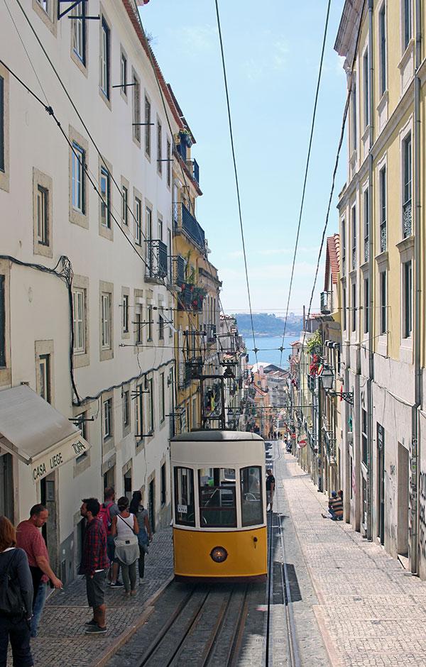 Elevador de la Bica - Qué hacer en Lisboa