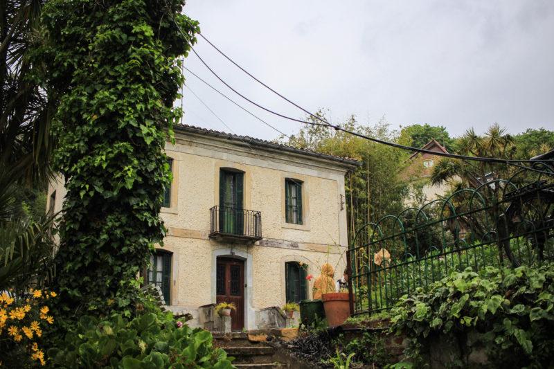 Casa del guarda, depositos de Ulia, Donostia.