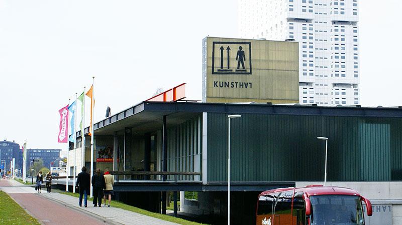 Museo Kunsthal, arquitectura moderna en Rotterdam