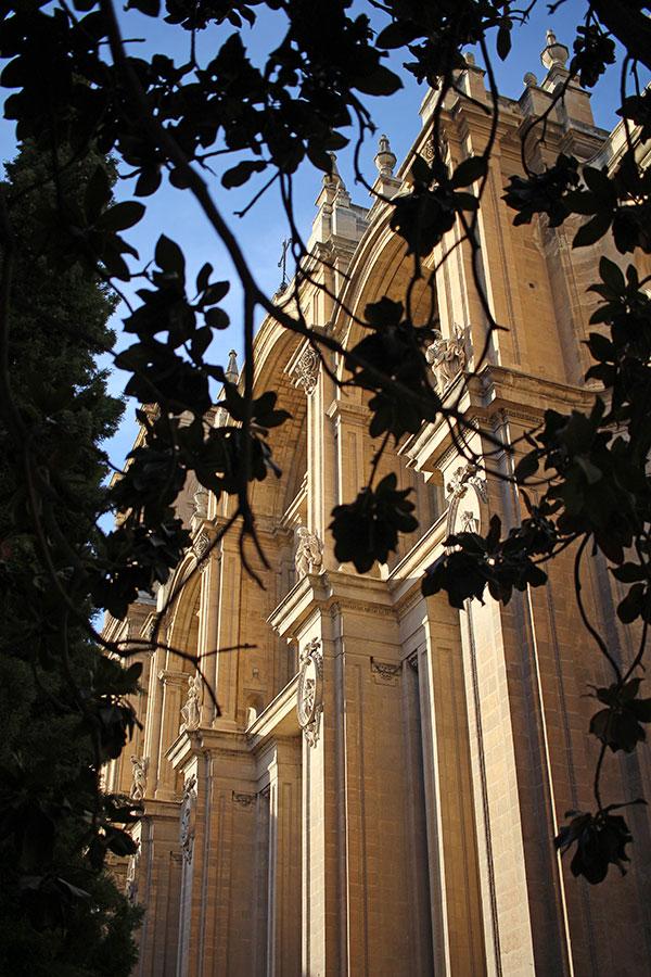 Catedral Granada, Fachada principal.