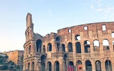 Exterior del Coliseo