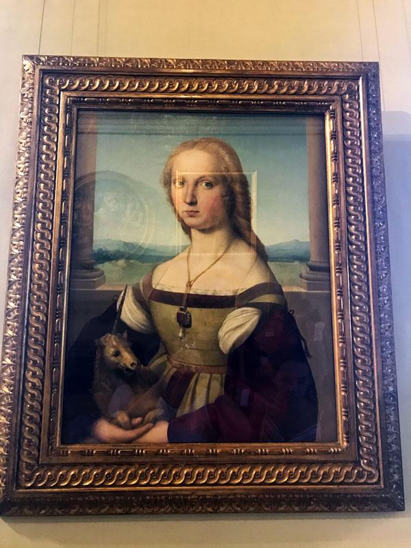 Dama del Unicornio - Rafael