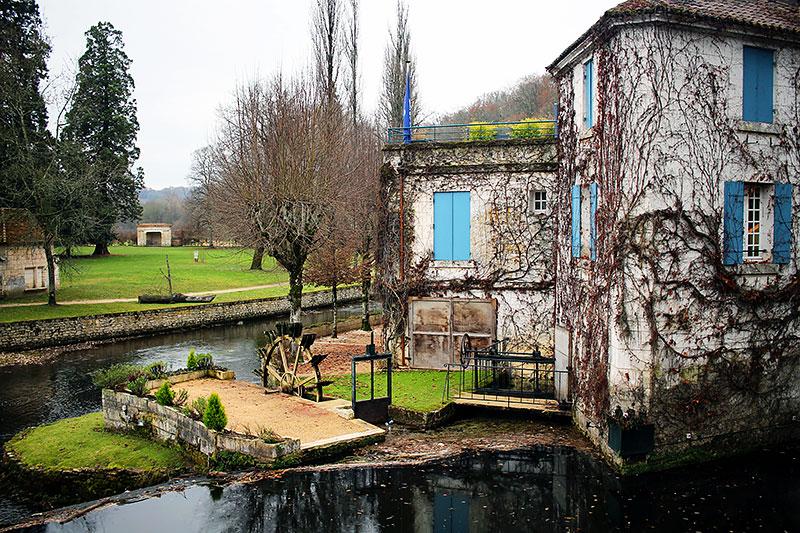 El molino de Brantôme