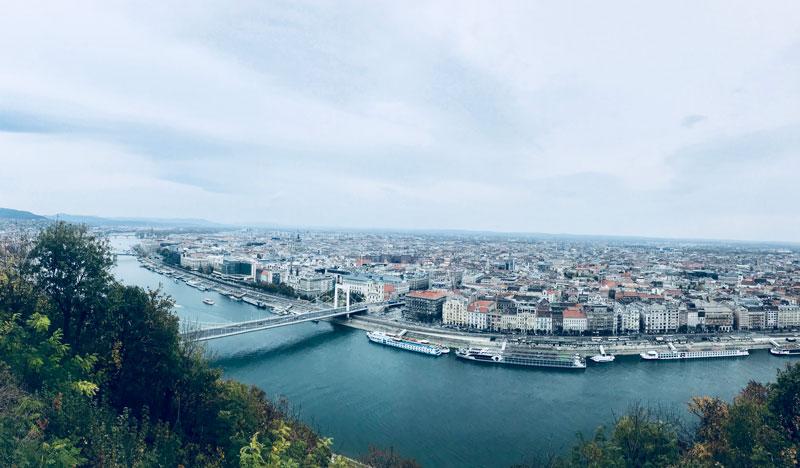 Vistas desde Gellert, qué ver en Budapest