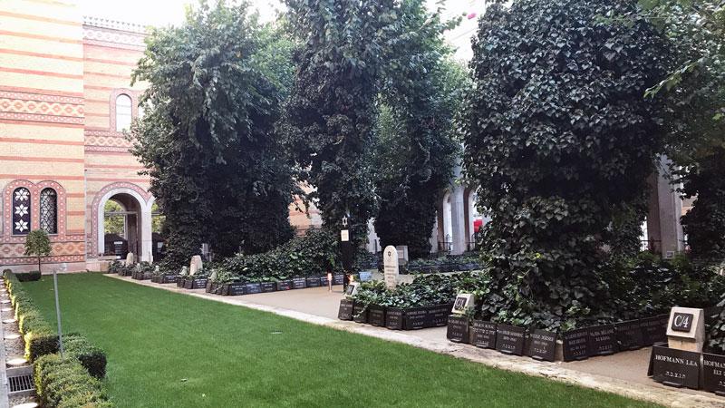 Cementerio de la Gran Sinagoga de Budapest