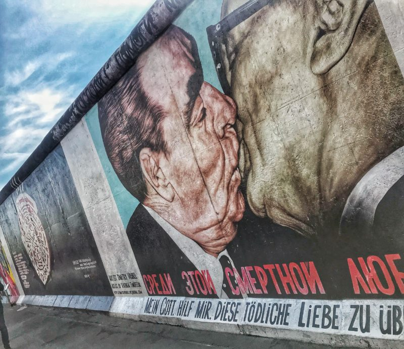East Side Gallery, uno de los grandes clásicos de Berlín gratis