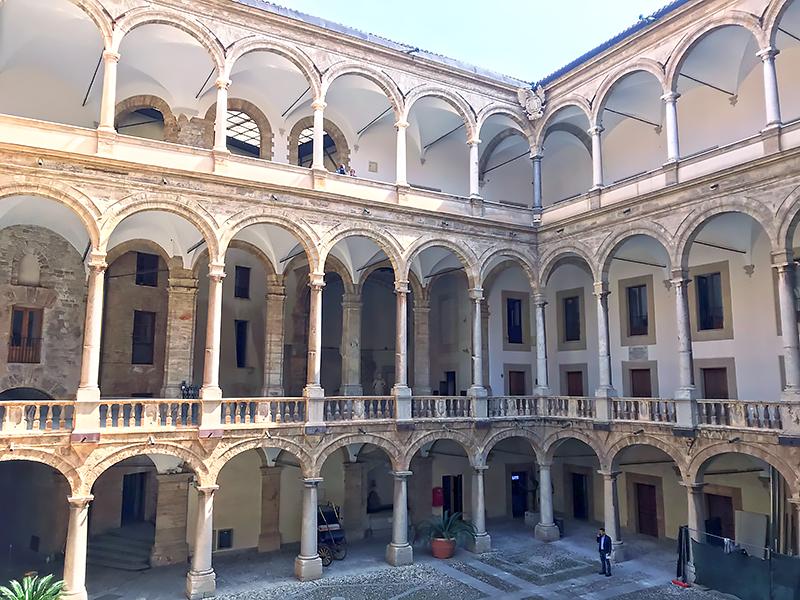 Palacio de los Normandos en Palermo