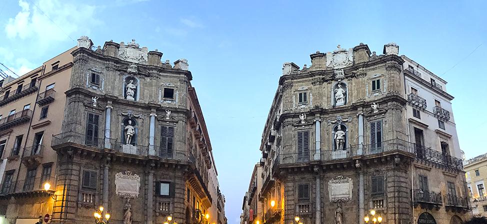 Quattro Canti en Palermo