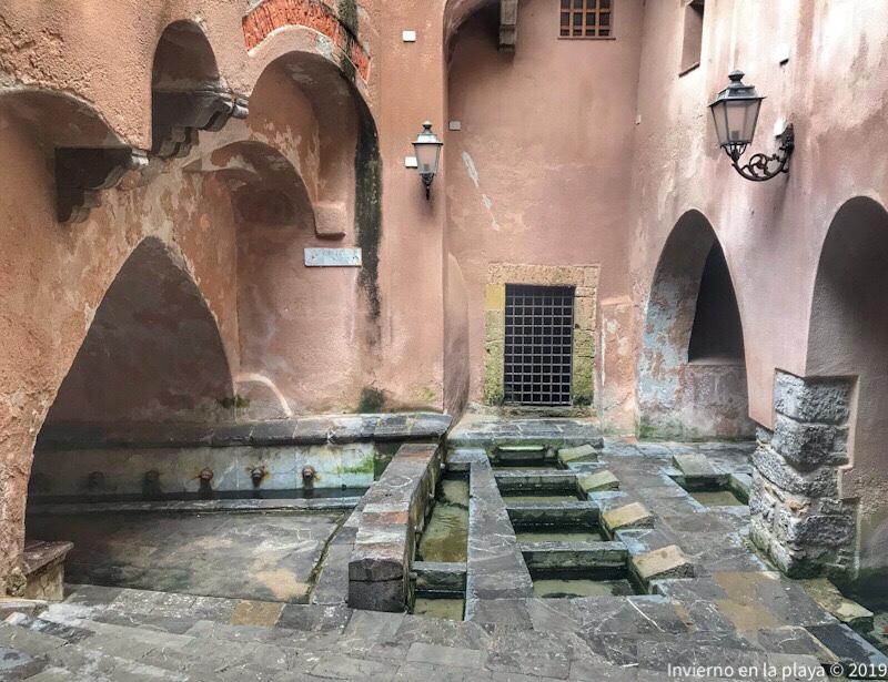 El lavadero medieval es una de las cosas más chulas que ver e n Cefalú