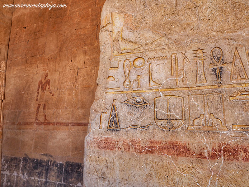 Relieves del Templo de Hatsepsut