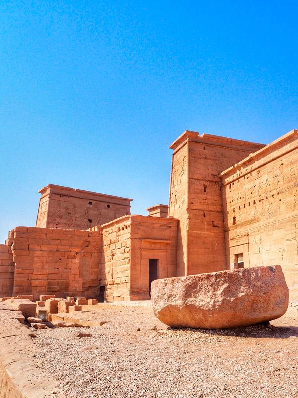 Lateral del templo.