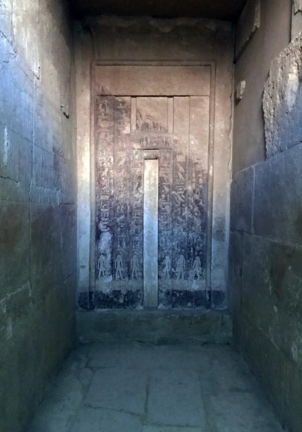 Puerta falsa mastaba