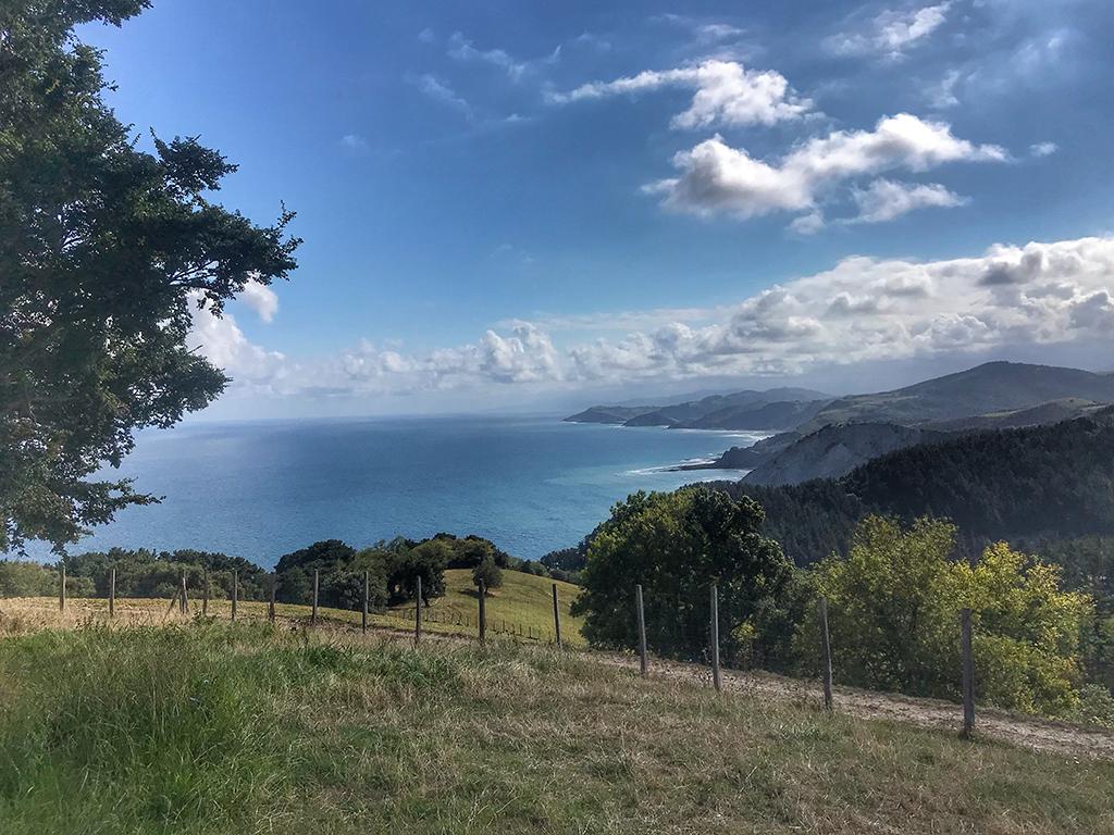 Vistas de la Costa Vasca