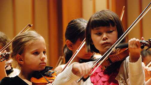 study of the violin is transformational