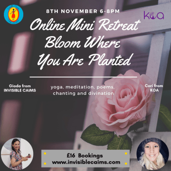 Online Mini Retreat: Bloom Where you are Planted
