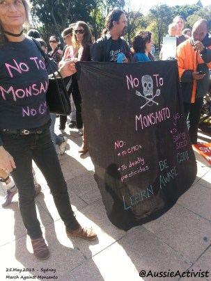 NO to Monsanto - @AussieActivist