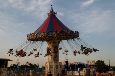 Lovebox Swing Carousel