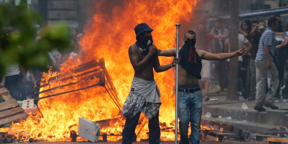 Riots during the 2014 Gaza demonstrations suspended by Paris Police