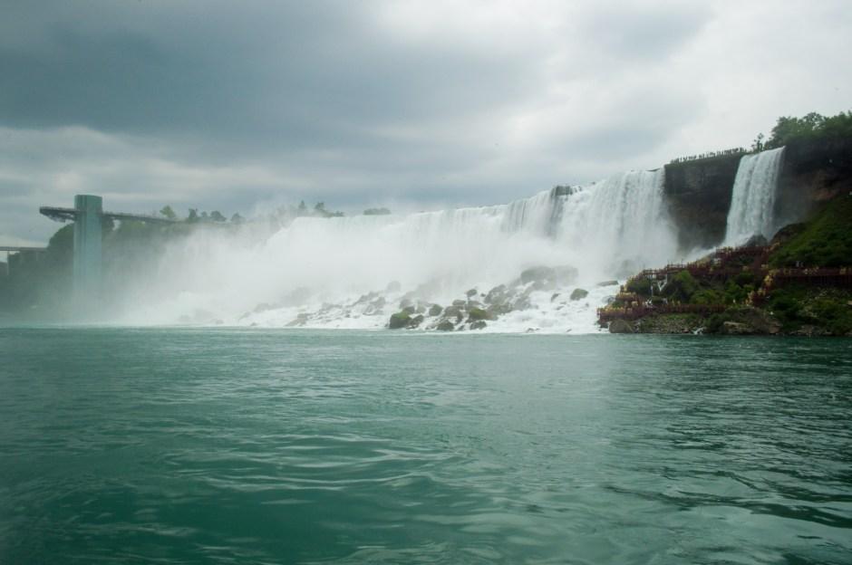 The Horsehoe Falls