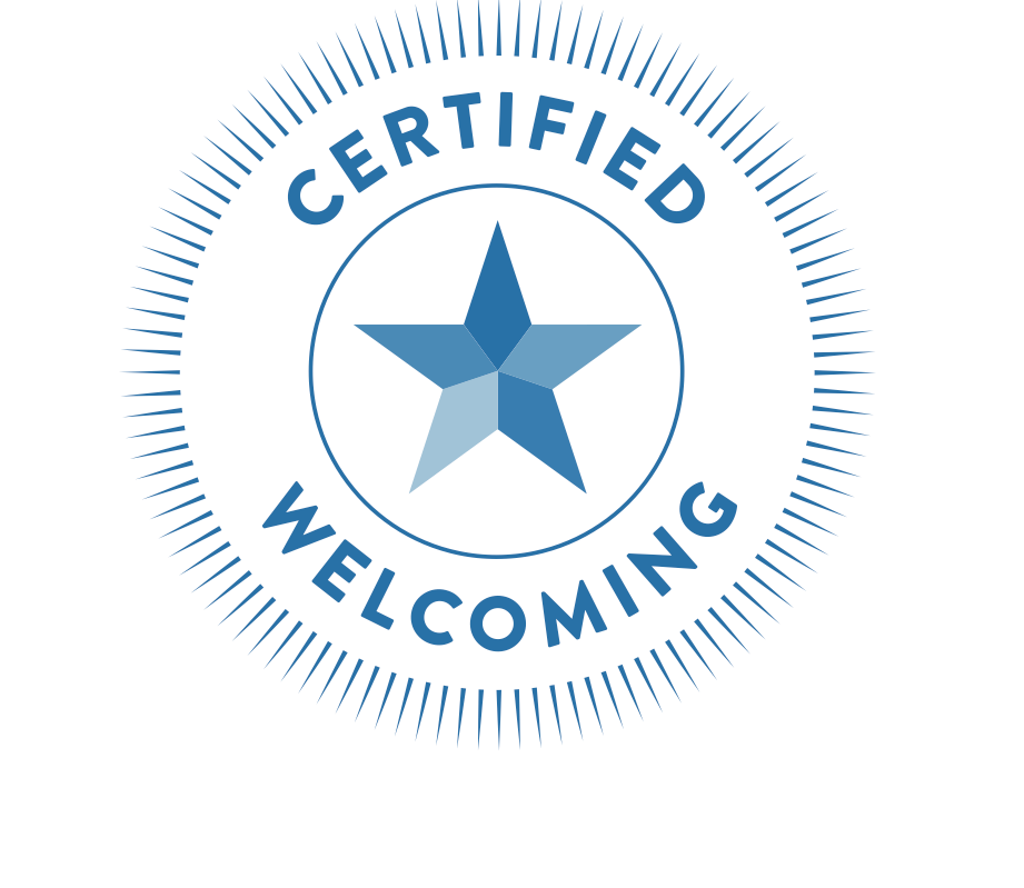 Certified Welcoming logo