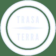 Trasaterra logo white