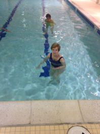 Bonnie in Pool