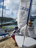Steven sailing
