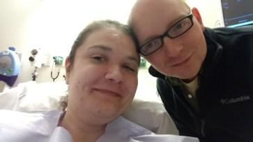 Me _ Ben at hospital