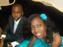 Sellars and Jadan - actors in The Color Purple Play Chicago - Theater 47 Group