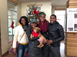 Vines Family and Koda_Adopted Him New Years Day 2018 from PAWS Chicago