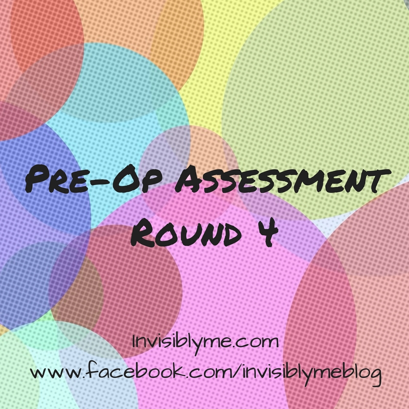 Pre-Op Assessment : Round 4