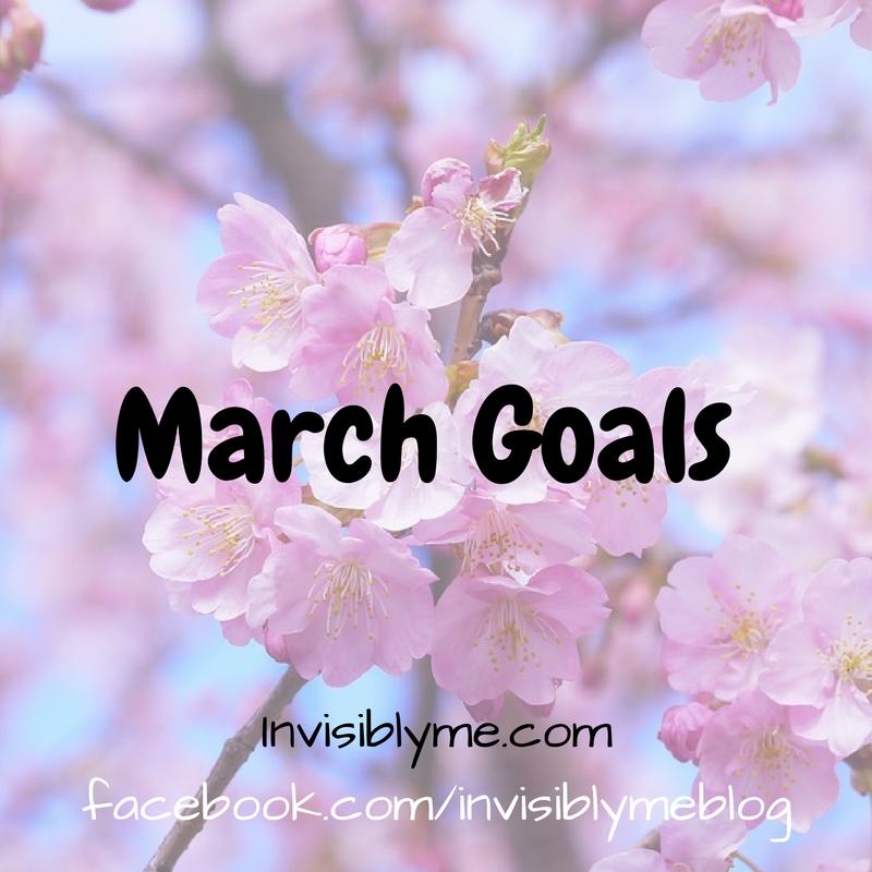 … March Goals …