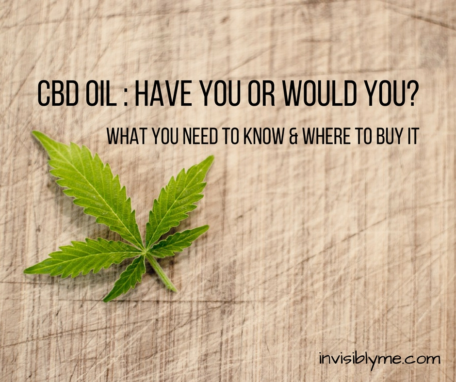 CBD Oil – Have You?