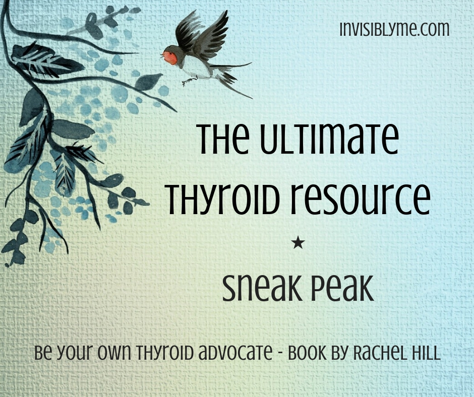 Sneak Peek: Be Your Own Thyroid Advocate Book Review