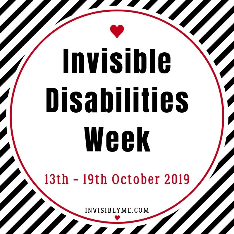 Why It's Important To Speak Out : Invisible Disabilities Week 2019