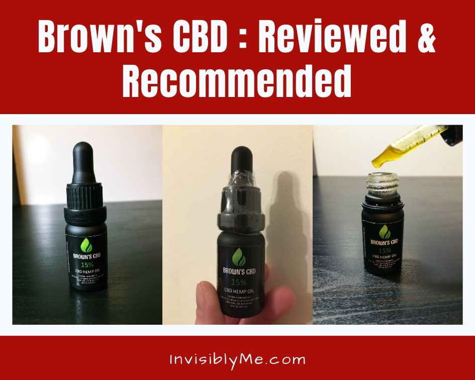 Brown's CBD : Reviewed & Recommended