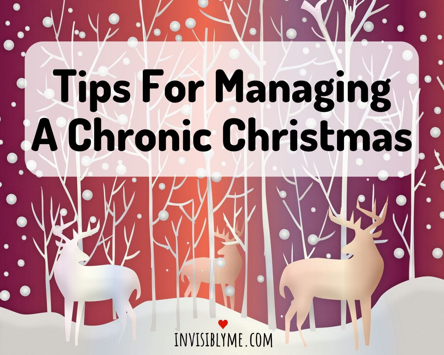 Tips for Managing A Chronic Christmas