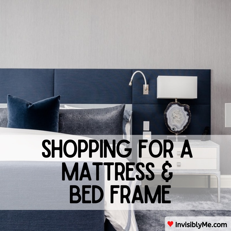 Shopping For A Mattress & Bed Frame