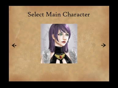Character selection 1