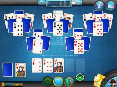 Royal Flush Solitaire (iOS & Android) - 02