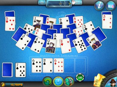 Royal Flush Solitaire (iOS & Android) - 03